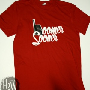 University of Oklahoma T-Shirt Boomer Sooner