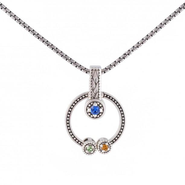 Mothers Birthstone Necklace Aftcra
