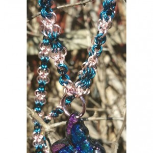 Butterfly Chainmaille necklace