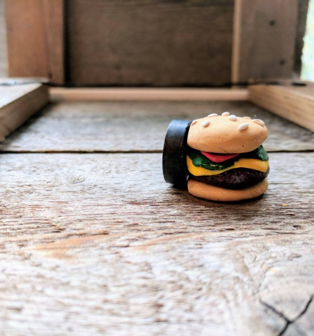 Cheeseburger • Funny Magnet • Cheeseburger Decor • Funny Gift • Hamburger Gifts • Stocking Stuffer • Custom Magnet • Hamburger • Heavy Duty