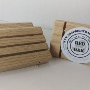 50 Red Oak Wooden Soap Dishes Free Shipping Wholsale Price