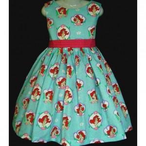 NEW Handmade Daisy Kingdom Pepper Mint Bears Christmas Sparkle Dress Custom Sz 12M-14Yrs