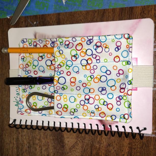 Bookmark & pen holder