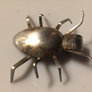 Up-Cycled Flatware Bugs by Jeffery Weatherford