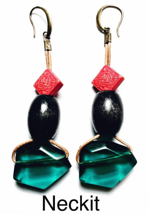 Afrocentric Statement Earrings