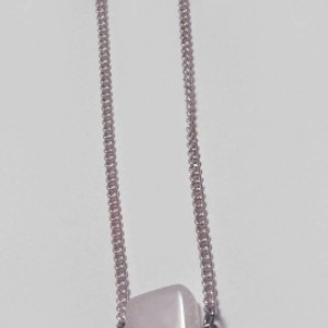 Rose Quartz Oil Diffuser Necklace