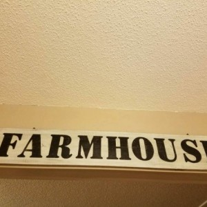 Rustic Wood Farmhouse Sign, Kitchen Decor