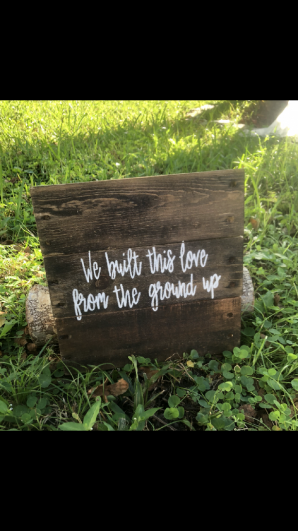 We Built this Love from the Ground Up