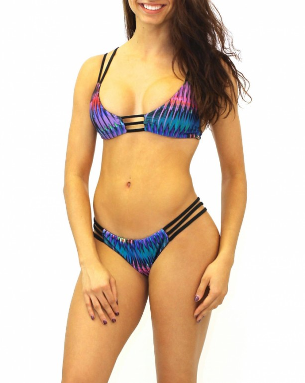 Reversible Strappy Bikini Bottoms