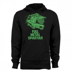 "Halo/Full Metal Jacket ""Spawned to Kill"" Hoodie"