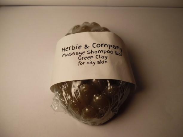 Herbie & Company Green Clay Massage Shampoo Bar