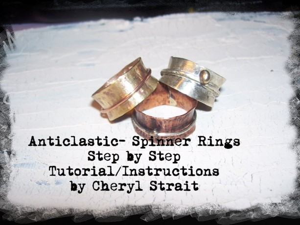 Step by Step Instructions/Tutorial for Anticlastic Rings PDF format