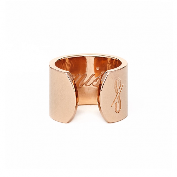 PROMISCUOUS RING: ROSE GOLD