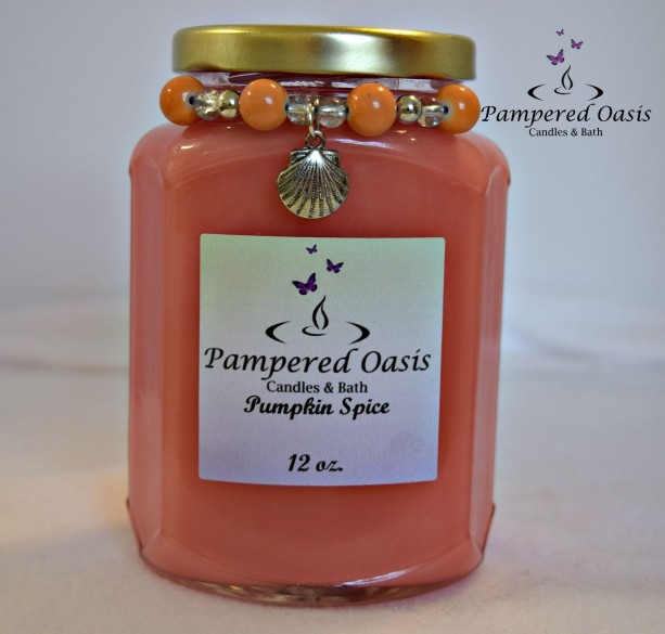 Pumpkin Spice Soy Candle - Pumpkin Spice Candle - Scented Soy Candle - Eco Friendly Candle - Clean Burn Candle