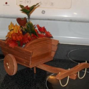 Ox cart planter box
