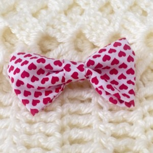 Set of 3 Children's Clip-on Bowtie or Hair Clip (Handmade)