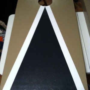 Custom made Cornhole Boards Set