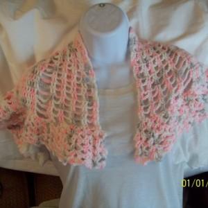 Handmade Crochet Shawlett
