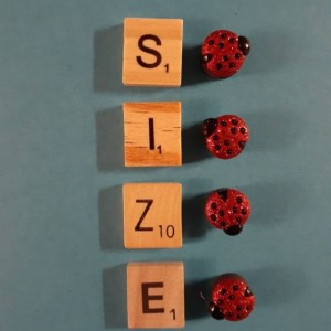 Magnets, 4 Strong Refrigerator Magnets, Cubicle Decor, Locker Magnets, Office Supply,Ladybug, Glitter