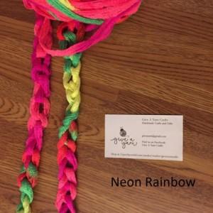 Infinity Chain Fashion Ruffle Yarn Scarf by Give A Yarn Crafts