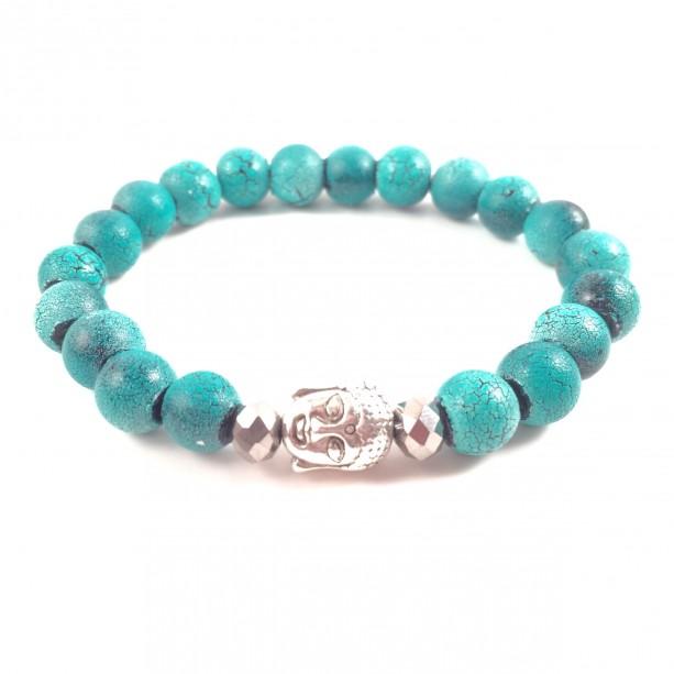 Turquoise Buddha bracelet