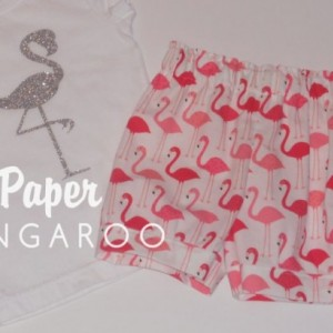 flamingo shorts, short, shorts, flamingo, summer outfit, flamingo 2T, shorts only
