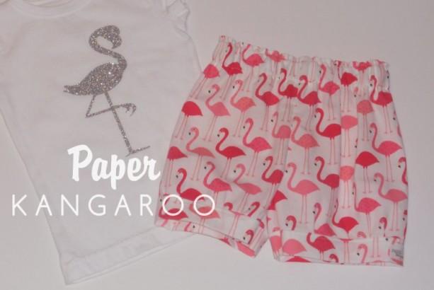 flamingo shorts, short, shorts, flamingo, summer outfit, flamingo 2T, shorts only
