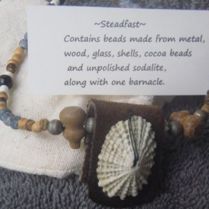 """Steadfast"" A Unique Barnacle Necklace"