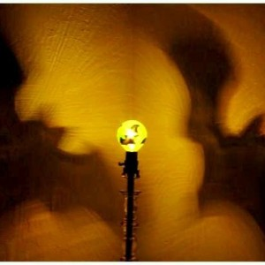 Hand-Painted Bats Mood-Light Bulb