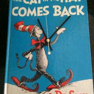 Children's Book Clock Dr Suess