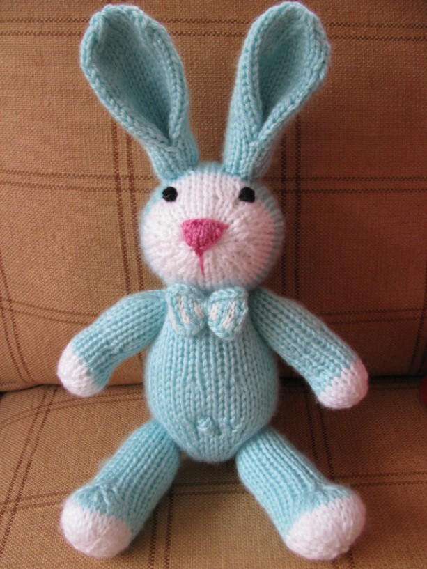 Bunny - Greenish Aqua- Choose Bow Tie for Boy or Hair Bow for Girl