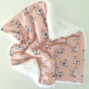 Llama lovey, security blanket, lovey, blanquet, baby security blanket, baby girl security blanket, cuddle lovey, blanket