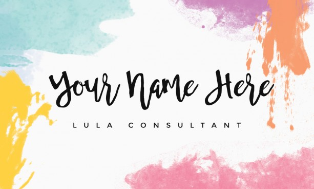 Custom Lularoe Business Card Design | aftcra