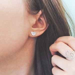 Nautilus Shell Stud Earrings