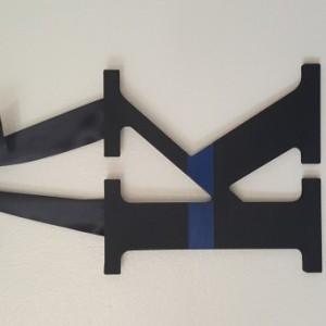 Thin Blue Line Monogram