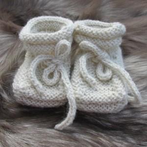 Alpaca Baby Booties