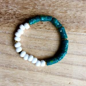 African bracelet,  African beaded bracelet, Ghanaian beaded bracelet, Gift for women, Tribal jewelry, Ethnic bracelet,  Bracelet