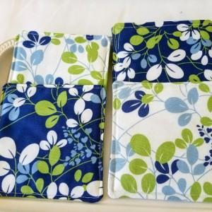 Floral Print Coasters