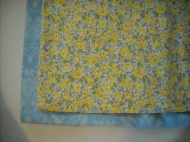 Baby Girl Blanket Embroidered baby blanket embroidered swaddle blanket baby girl yellow and blue  floral nursery