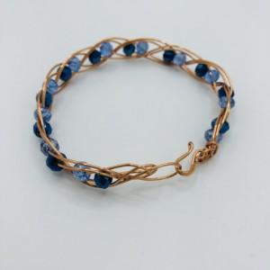 """7"""" Copper Braided Bracelet"""