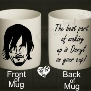 Daryl Dixon Mug, Zombie cup, Daryl Mug, TWD, Zombie Mug, Daryl Dixon Fans, TWD Fans, Custom Mug, Christmas Gift, The Walking Dead Mug