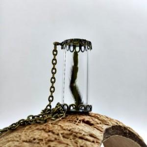 Blue Baboon Tarantula Leg Necklace