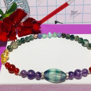 Stay Healthy  - Immune System Holistic Booster Bracelet  |  Cold, Flu, and Virus Defense |  Enhanced Recovery