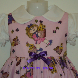 NEW Rare Licensed Cabbage Patch Kids Dress Custom Made Sz 12M-14Yrs