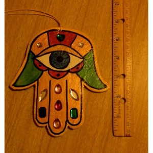 Lucky Hand Hamsa Wall/Window Hanging Smal