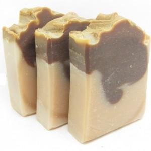 Cedar and Nutmeg Handmade Goat Milk Soap