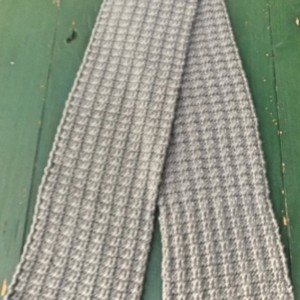"""Boyfriend Knit"" Grey Scarf"