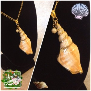 Seashell Gold Necklace
