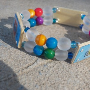 Truth Beauty Goodness Bracelet, Multi-Color