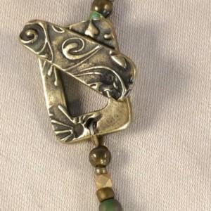 Aquamarine Jade Agate Necklace
